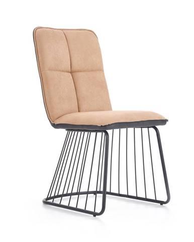 K269 jedálenská stolička svetlohnedá
