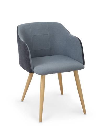 K288 jedálenská stolička granátová