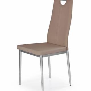 K202 jedálenská stolička cappuccino