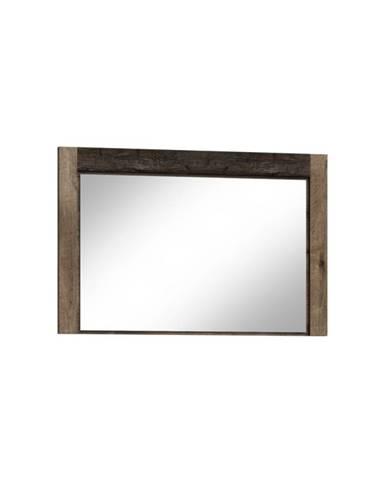 Infinity 12 zrkadlo na stenu jaseň tmavý