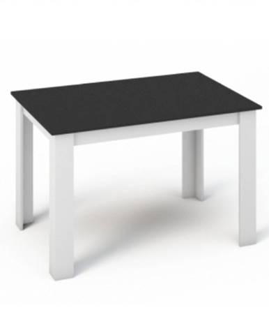 Kraz jedálenský stôl 120x80 cm biela