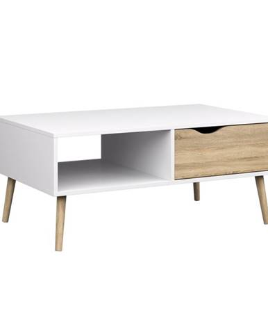 Oslo 75384 konferenčný stolík dub sonoma