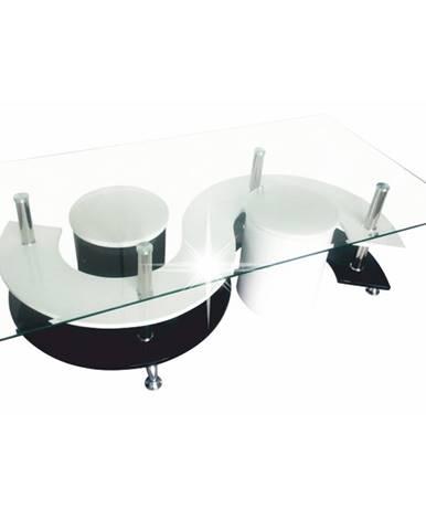 Rupert konferenčný stolík biela