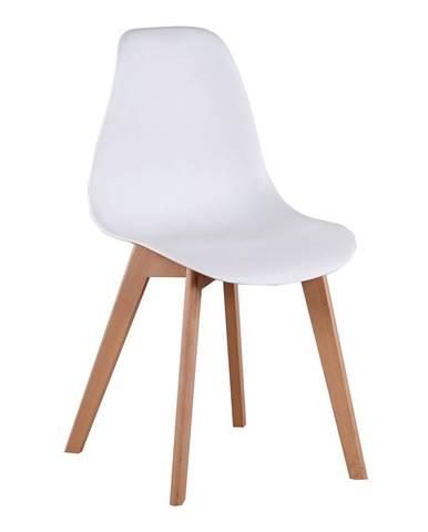 Ayna jedálenská stolička biela