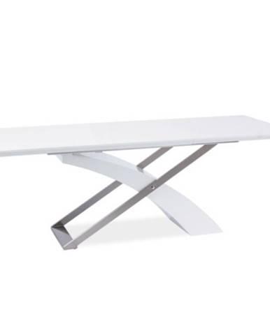Kros rozkladací jedálenský stôl biela