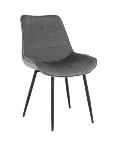 Sarin jedálenská stolička sivá