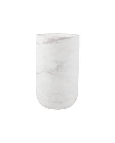 Biela mramorová váza Zuiver Fajen