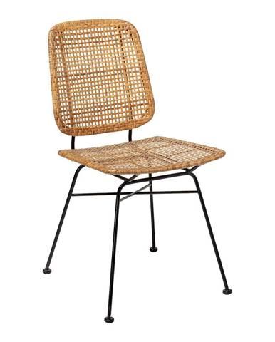 Ratanová jedálenská stolička Bloomingville Laurel
