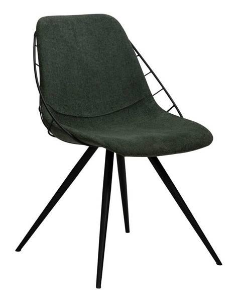 DAN-FORM Denmark Zelená jedálenská stolička DAN-FORM Denmark Sway