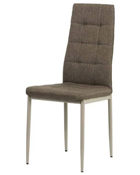 Sconto Jedálenská stolička ADELE hnedá