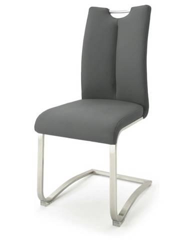 Jedálenská stolička ADALYN 1 sivá