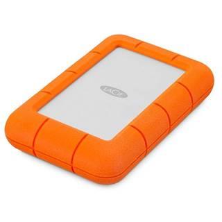 Externý pevný disk Lacie Rugged Mini 5TB, USB 3.0 oranžový
