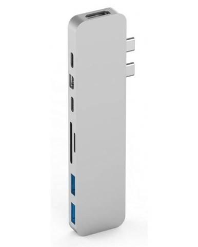 USB Hub HyperDrive PRO USB-C Hub pro MacBook Pro strieborný