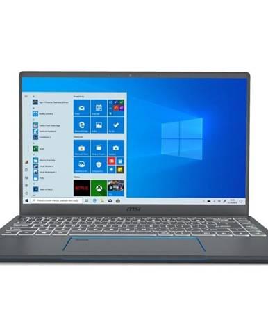 Notebook MSI Prestige 14 A10ras-084CZ sivý