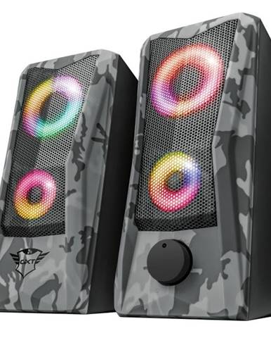 Reproduktory Trust GXT 606 Javv RGB-Illuminated 2.0 sivé