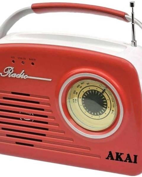 AKAI Rádioprijímač Akai APR-11 červen