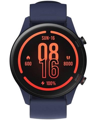 Inteligentné hodinky Xiaomi Mi Watch modré