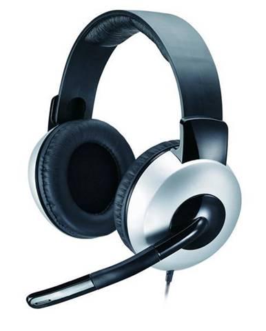Headset  Genius HS-05A čierny/strieborný