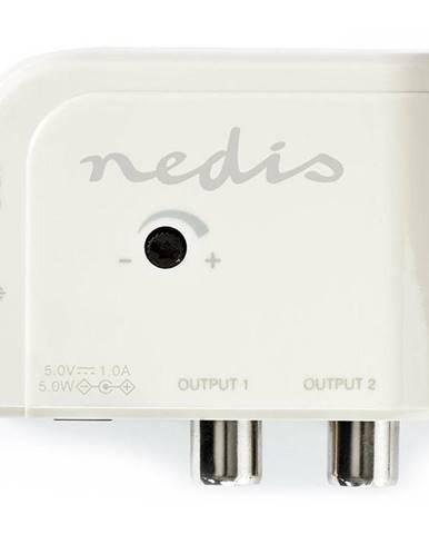 Zosilňovač Nedis Catv, Max. zesílení 15 dB, 50-694 MHz, 2 výstupy,
