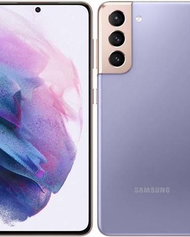 Mobilný telefón Samsung Galaxy S21 5G 128 GB fialový
