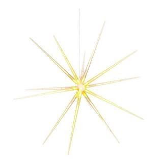 LED svetelná hviezda Markslöjd Bright, ø 53cm