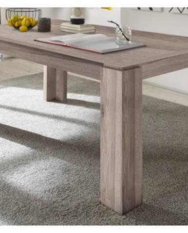 Jedálenský stôl Universal 160x90 cm, pieskový dub%