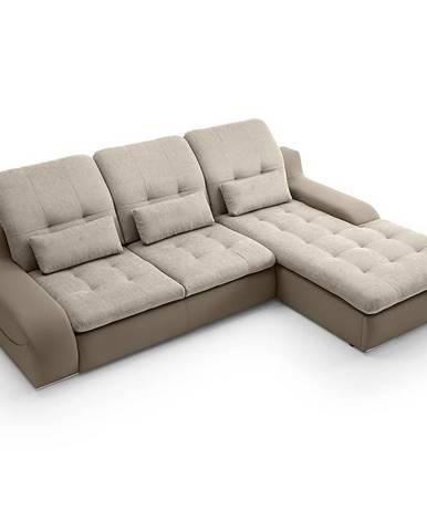 Rohová sedacia súprava Bavero 2R-LC Bonn 23 + Soft 4