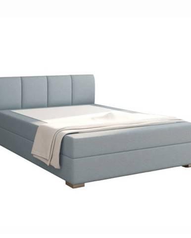 Boxpringová posteľ 120x200 mentolová RIANA KOMFORT