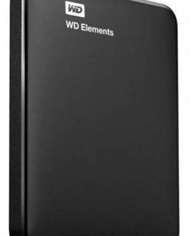 """WD Elements Portable 750GB Ext. 2.5"""" USB3.0, Black ROZBALENÉ"""