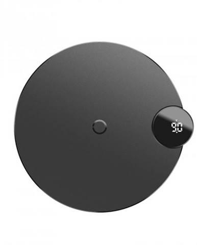 Bezdrôtová nabíjačka Baseus, s LED displejom, čierna