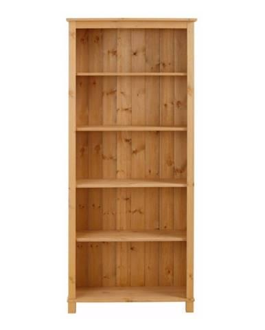 Knižnica z masívneho borovicového dreva Støraa Pinto