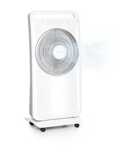 Klarstein Wildwater, stojanový ventilátor so zvlhčovačom vzduchu, 80W, 3690m³/h, 2,5l, biely
