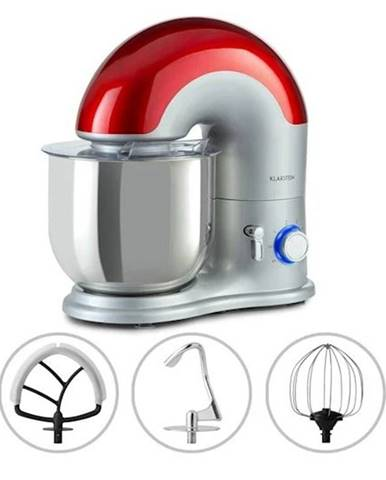 Kuchynský robot Klarstein Delfino červený/nerez