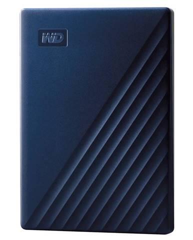 Externý pevný disk Western Digital 2TB pro Mac modrý