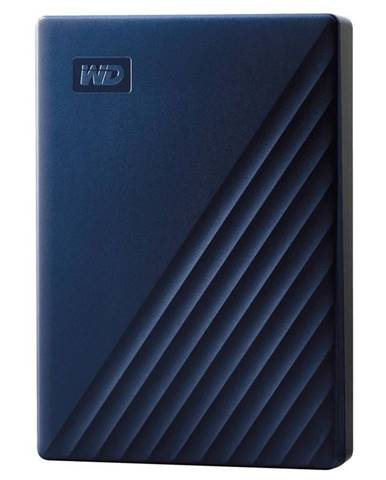 Externý pevný disk Western Digital 4TB pro Mac modrý