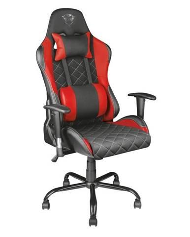 Herná stolička Trust GXT 707R Resto červená