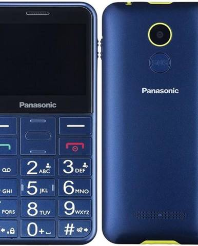 Mobilný telefón Panasonic KX-Tu150exc Dual SIM modrý