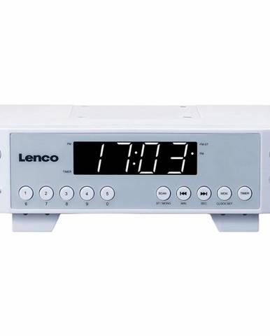 Rádioprijímač Lenco KCR-11 biely