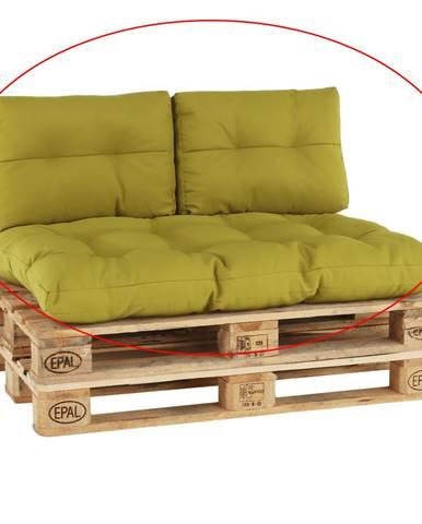 Vankúše na paletové sedenie zelenožltá ARYO