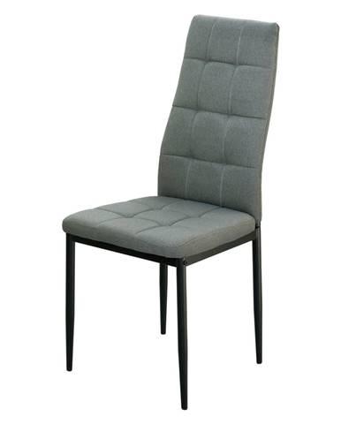 Jedálenská stolička KAPPA sivá
