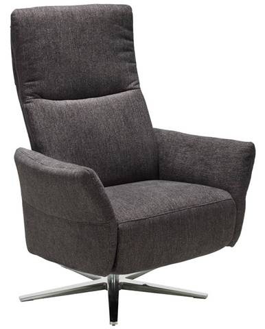 Pure Home Comfort RELAXAČNÉ KRESLO, textil, antracitová - antracitová