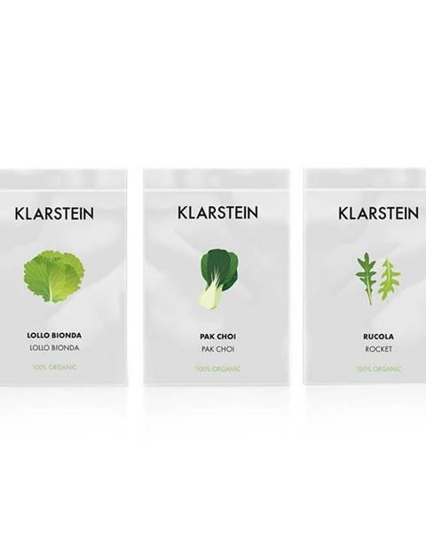 Klarstein Klarstein GrowIt Seeds Salad, 3 balíčky semien: lollo bionda, pak choi, rukola