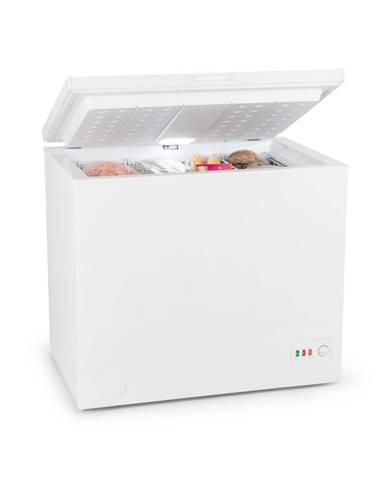 Klarstein Iceblokk Eco, mraziaci box, A+++, 200 l, 2 závesné koše, kolieska, biely