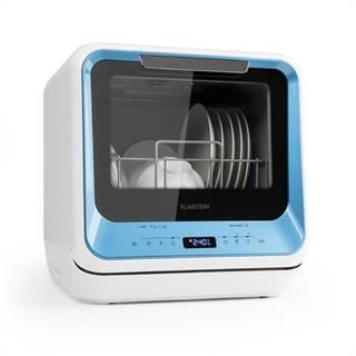 Klarstein Amazonia Mini, umývačka riadu, 6 programov, LED displej, modrá farba