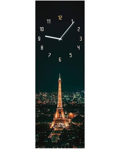 Sklenené hodiny 20X60 PARIS