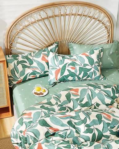 Bavlnená saténová posteľná bielizeň ALBS-01249B 200X220