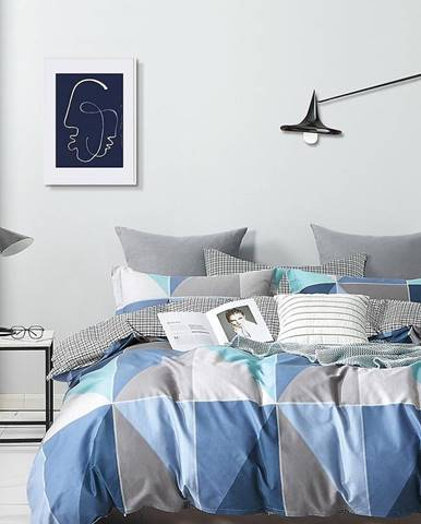 Bavlnená saténová posteľná bielizeň ALBS-01255B 200X220