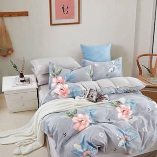 Bavlnená saténová posteľná bielizeň ALBS-01251B 200X220