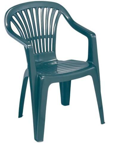 Záhradná stolička Scilla zelená