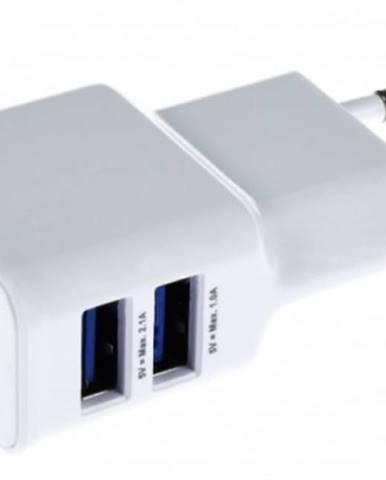 Nabíjačka Apei 2xUSB 3,1A s rychlonabíjením + kábel Micro USB